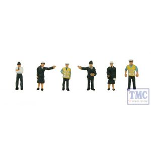 379-301 Scenecraft N Gauge Police & Security Staff