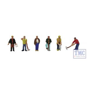 379-302 Scenecraft N Gauge Construction Workers