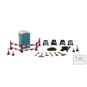 379-308 Scenecraft N Gauge Building Site Details and Tools