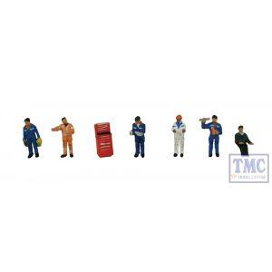 379-311 Scenecraft N Gauge Traction Maintenance Depot Workers