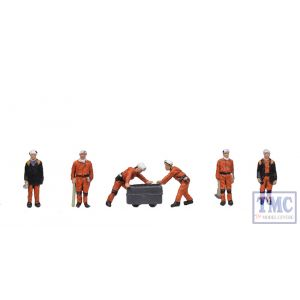 379-313 Scenecraft N Gauge 1960/70s Coal Miners