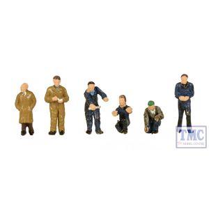 379-316 Scenecraft N Gauge Factory Workers & Foreman