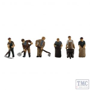 379-324 Scenecraft N Gauge 1940/50s Arable Farming Figures