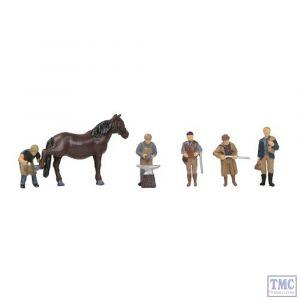 379-327 Scenecraft N Gauge Rural Tradesmen