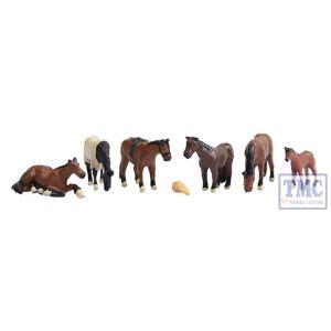379-340 Scenecraft N Gauge Horses