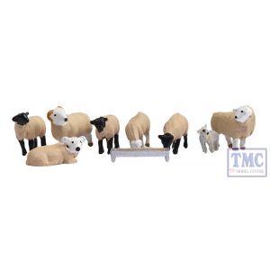 379-343 Scenecraft N Gauge Sheep