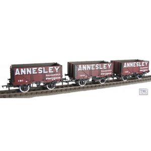 37-081XLTD Bachmann OO/HO Scale Annesley PO 7 Planks Set of 3 Pristine