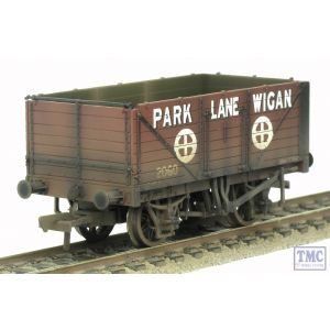 37-082A Bachmann OO/HO Scale 7 Plank End Door Wagon 'Park Lane Wigan' Weathered by TMC