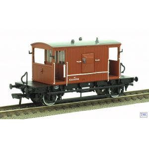 37-529Z Bachmann OO Gauge 20 Ton Ex. LNER Brake Van BR Bauxite E234998 ER TMC Limited Edition