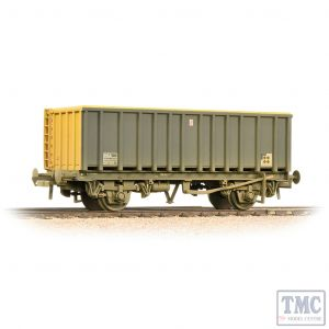 38-063B Bachmann OO Gauge 45 Tonne glw MEA Open Box Wagon BR Coal Sector - Weathered