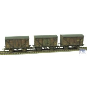 38-191Y Bachmann OO Gauge Insulated Ale Vans BR Bauxite (Triple Pack) *TMC Limited Edition* Deluxe Weathering by TMC