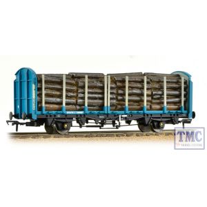 38-302 Bachmann OO Gauge OTA (exVDA) Timber Carrier Wagon Kronospan Blue with Lumber Load