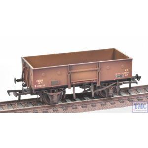 38-326A Bachmann OO Gauge 13 Ton High Sided Steel Wagon BR Bauxite (Late)