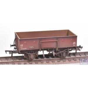 38-331 Bachmann OO Gauge 13 Ton H/Sided Steel Wagon (Chain Pockets) LNER Bauxite
