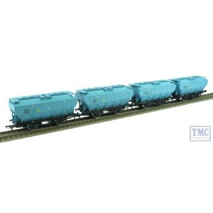 38-500X Bachmann OO Gauge Pack of 4 BSC Ice Blue Covhop Wagons TMC Exclusive B870763 B886737 B870790 & B886759