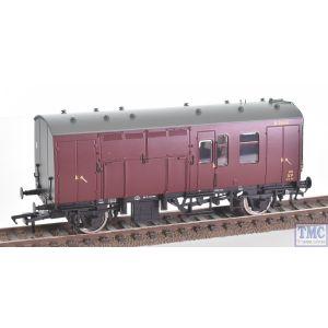 38-527YLTD Bachmann OO/HO Scale MR Maroon Horse Box M96300 & M96301 (Twin)
