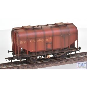 38-603 Bachmann OO Gauge 21 Ton Grain Hopper BR PO Bass Red