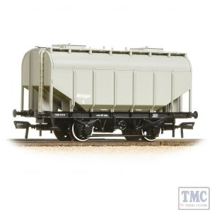 38-604 Bachmann OO Gauge 21 Ton Grain Hopper BR PO Worthington Grey