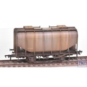38-604 Bachmann OO Gauge 21 Ton Grain Hopper BR PO Worthington Grey
