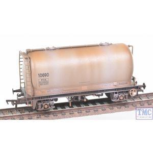 38-651A Bachmann OO Gauge PCA Metalair Bulk Powder Wagon Grey