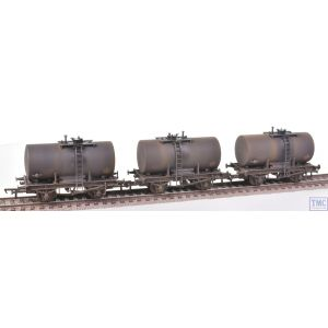 38-776Z Bachmann OO Gauge 20 Ton Anchor-Mounted Tank Wagons Gulf (Set of 3) - TMC Limited Edition