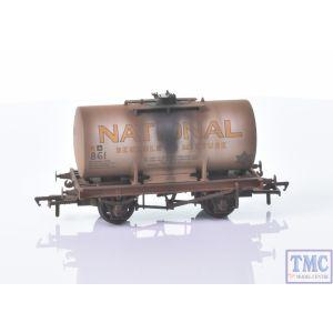 38-778A Bachmann OO Gauge 14T Class A Anchor-Mounted Tank Wagon 'National Benzole' Silver [W]