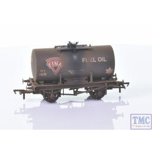 38-779 Bachmann OO Gauge Class B 14 Ton Anchor-Mounted Tank Wagon 'Fina' Black