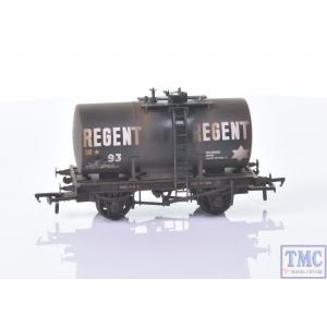 38-780 Bachmann OO Gauge 14T Class B Anchor-Mounted Tank Wagon 'Regent Oil' Black