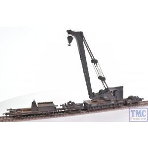 38-800 Bachmann OO Gauge Ransomes & Rapier 45T Steam Breakdown Crane SR Grey
