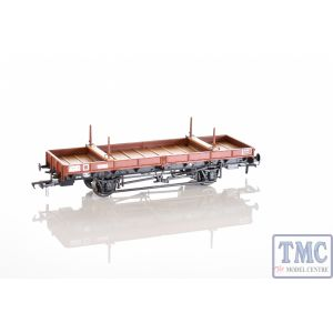38-825Z Bachmann OO Gauge Double Bolster Wagon Freight Brown Livery B920055
