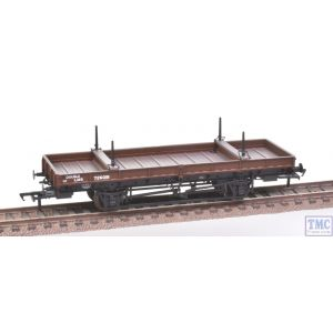 38-828Z Bachmann OO Gauge Double Bolster Wagon LMS Bauxite livery 726018