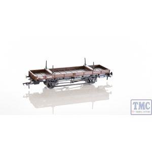 38-828Z Bachmann OO Gauge Double Bolster Wagon LMS Bauxite livery 726018