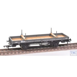 38-829Z Bachmann OO Gauge Double Bolster Wagon LNER Grey livery 250641