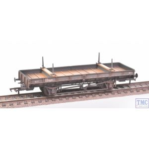 38-829Z Bachmann OO Gauge Double Bolster Wagon LNER Grey no.250641 Deluxe Weathering by TMC
