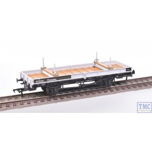 38-830Z Bachmann OO Gauge Double Bolster Wagon Olive Green/Freight Grey livery DE250482