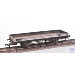 38-850Z Bachmann OO Gauge Plate Wagon ZDO Freight Grey Livery DB931321 Weathered by TMC