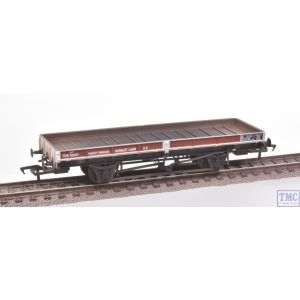 38-851Z Bachmann OO Gauge Reach Plate Wagon BR Bauxite & Grey TDB931937 Weathered by TMC