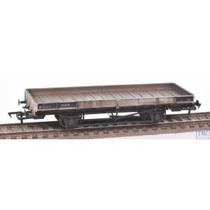 38-854Z Bachmann OO Gauge Plate Wagon Twin pack Freight Grey B930287/M496695 *TMC Exclusive* with Deluxe Weathering by TMC