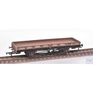 38-856Z Bachmann OO Gauge Plate Wagon Lackenby Works Freight Grey E212085 Extra Detail Weathering by TMC