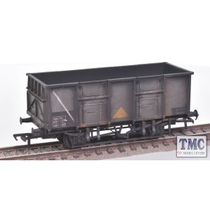 38-932Z Bachmann BR 24.5 Ton Mineral Wagon, B282217N, in BR Grey Livery with Yellow Triangle, Data Panel coded COAL 24 1/2, Self-contained Buffers &åÇ_ Roller Bearings