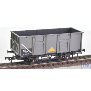 38-933Z BachmannBR 24.5 Ton Mineral Wagon B282827 in BR Grey Livery with Yellow Triangle Data Panel coded COAL 24 MEO Oleo Buffers & Roller Bearings