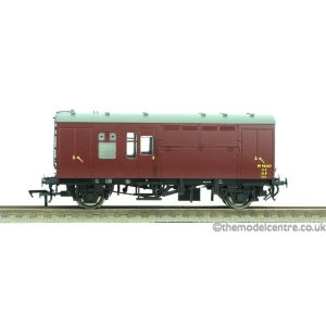 38-525WLTD Bachmann OO/HO Scale WR Maroon Horse Box W96357 (Single)