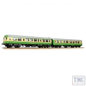 39-005 Bachmann OO Gauge BR 'Highlander' Coach Pack Mk2 TSO & Class 101 DTCL - Includes Passenger Figures
