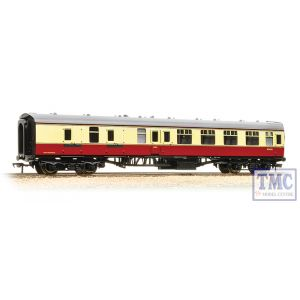 39-077F Bachmann OO Gauge BR Mk1 BSK Brake Second Corridor BR Crimson & Cream