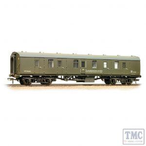 39-186 Bachmann OO Gauge BR Mk1 BG Brake Gangwayed Departmental Olive Green - Weathered