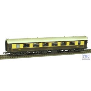 39-292 Bachmann OO Gauge BR Mk1 Pullman PFP First Parlour Pearl Umber & Cream (White Roof) Weathered by TMC