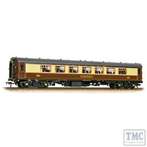 39-310C Bachmann OO Gauge BR Mk1 Pullman PSP Second Parlour '350' Umber & Cream (Grey Roof)