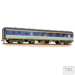 39-413 Bachmann OO Gauge BR Mk2A BFK Brake First Corridor BR Regional Railways - Weathered - Includes Passenger Figures