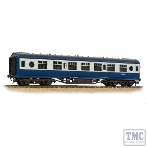 39-452 Branchline OO Gauge LMS 57ft 'Porthole' Second Corridor BR Blue & Grey