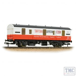 39-556 Bachmann OO Gauge BR Mk 1 CCT Covered Carriage Truck Tartan Arrow